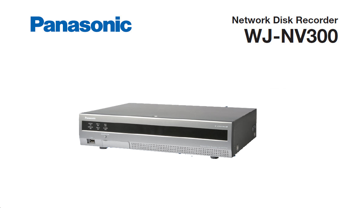 Panasonic DVR WJ-NV300